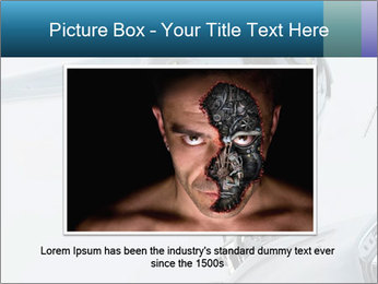 Futuristic robot PowerPoint Templates - Slide 16