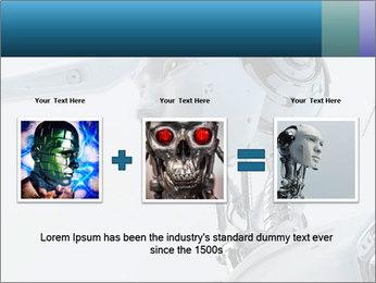 Futuristic robot PowerPoint Templates - Slide 22
