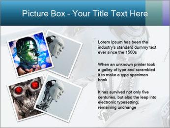 Futuristic robot PowerPoint Templates - Slide 23