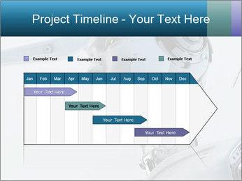 Futuristic robot PowerPoint Templates - Slide 25