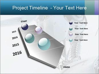 Futuristic robot PowerPoint Templates - Slide 26