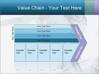Futuristic robot PowerPoint Templates - Slide 27