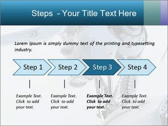 Futuristic robot PowerPoint Templates - Slide 4