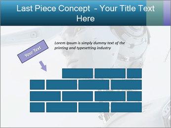 Futuristic robot PowerPoint Templates - Slide 46