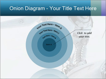 Futuristic robot PowerPoint Templates - Slide 61