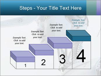 Futuristic robot PowerPoint Templates - Slide 64