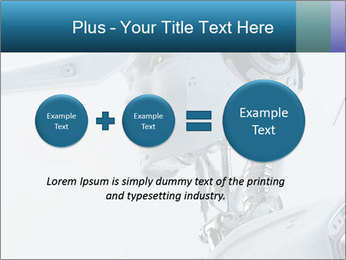 Futuristic robot PowerPoint Templates - Slide 75