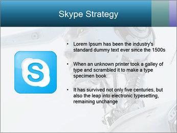 Futuristic robot PowerPoint Templates - Slide 8