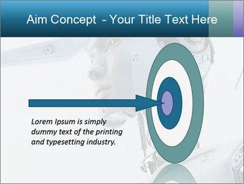 Futuristic robot PowerPoint Templates - Slide 83