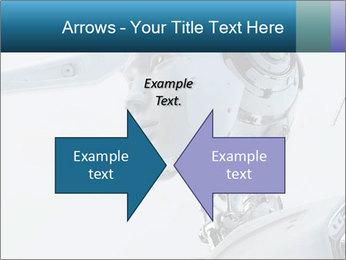 Futuristic robot PowerPoint Templates - Slide 90