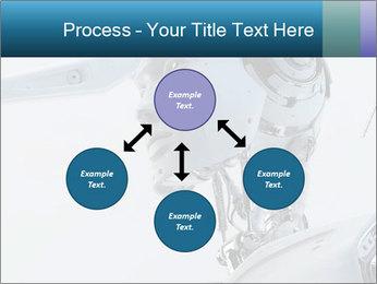 Futuristic robot PowerPoint Templates - Slide 91