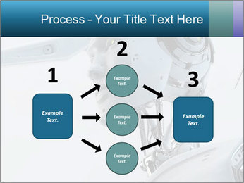 Futuristic robot PowerPoint Templates - Slide 92