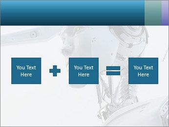 Futuristic robot PowerPoint Templates - Slide 95