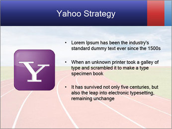 Running track PowerPoint Template - Slide 11