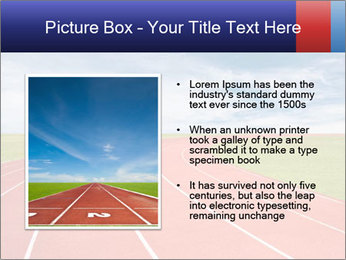 Running track PowerPoint Template - Slide 13