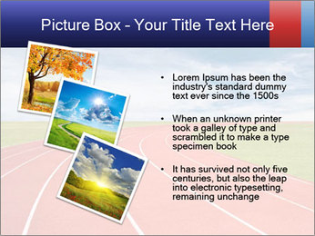 Running track PowerPoint Template - Slide 17