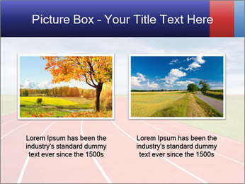 Running track PowerPoint Template - Slide 18