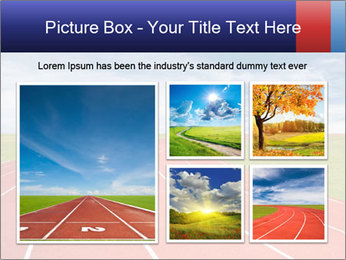 Running track PowerPoint Template - Slide 19