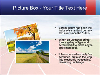 Running track PowerPoint Template - Slide 20