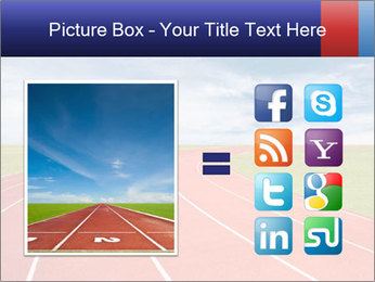 Running track PowerPoint Template - Slide 21