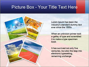 Running track PowerPoint Template - Slide 23