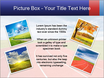 Running track PowerPoint Template - Slide 24