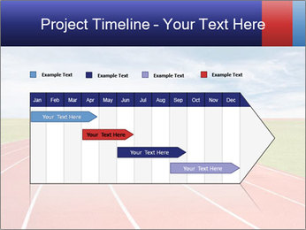 Running track PowerPoint Template - Slide 25