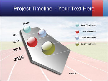 Running track PowerPoint Template - Slide 26