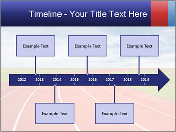 Running track PowerPoint Template - Slide 28
