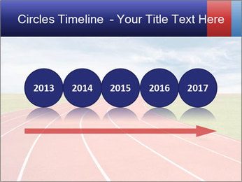 Running track PowerPoint Template - Slide 29