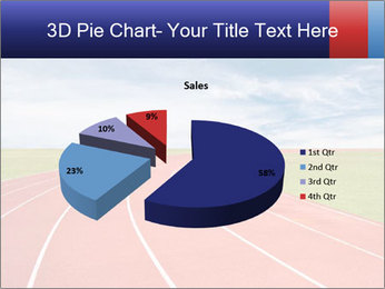 Running track PowerPoint Template - Slide 35
