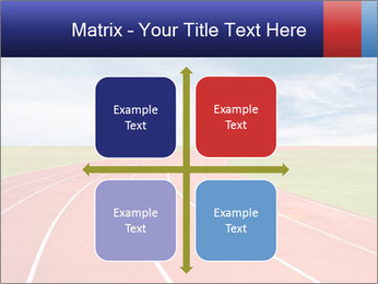 Running track PowerPoint Template - Slide 37