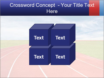Running track PowerPoint Template - Slide 39