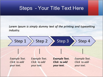Running track PowerPoint Template - Slide 4