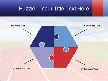 Running track PowerPoint Template - Slide 40