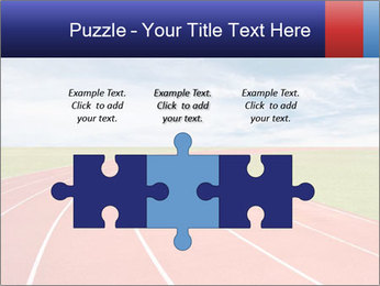 Running track PowerPoint Template - Slide 42