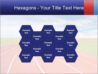 Running track PowerPoint Template - Slide 44