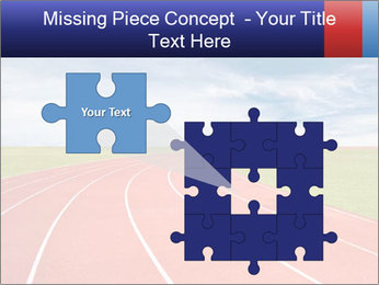 Running track PowerPoint Template - Slide 45