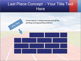 Running track PowerPoint Template - Slide 46