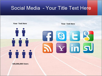 Running track PowerPoint Template - Slide 5