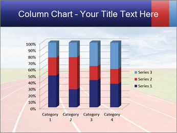 Running track PowerPoint Template - Slide 50