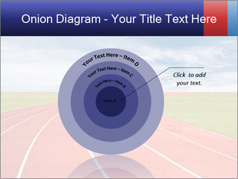 Running track PowerPoint Template - Slide 61