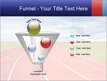 Running track PowerPoint Template - Slide 63