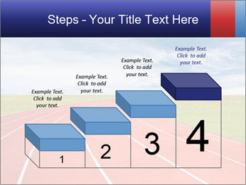 Running track PowerPoint Template - Slide 64