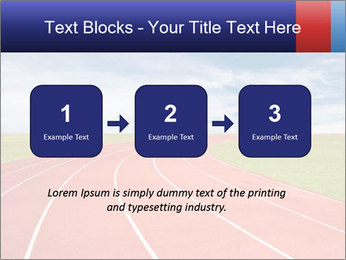 Running track PowerPoint Template - Slide 71