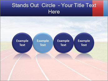 Running track PowerPoint Template - Slide 76