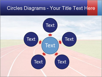 Running track PowerPoint Template - Slide 78