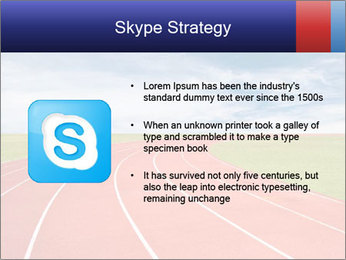 Running track PowerPoint Template - Slide 8