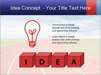 Running track PowerPoint Template - Slide 80