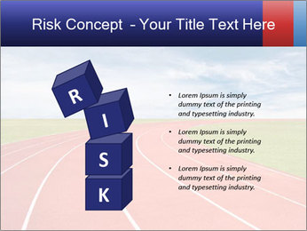 Running track PowerPoint Template - Slide 81